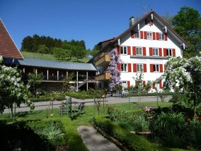 nachhaltige unterkuenfte in deutschland urlaub in der natur auf dem land am wasser landhotel martinsmuehle bodensee bayern streuobstwiese