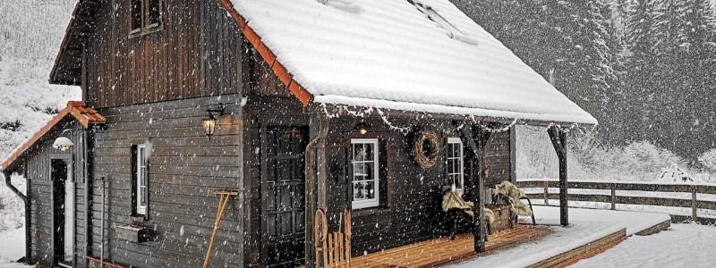 bergquartier herzhausen ferienhaus oberharz berge in der natur mit kindern gruppe grossfamilie winterurlaub norddeutschlands hoechstes gebirge baerenhuette aussenansicht winter