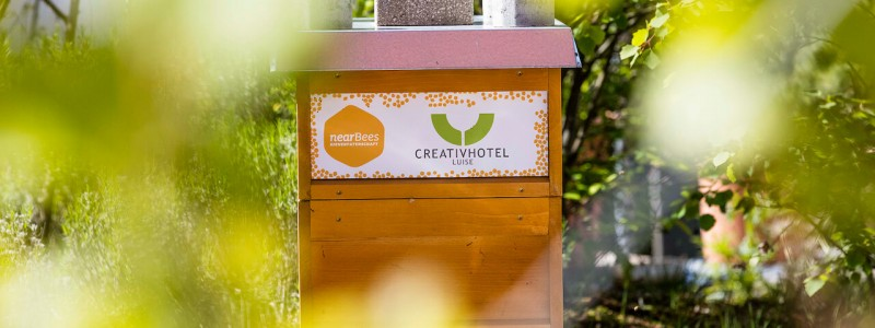 creativhotel luise bayern franken erlangen urlaub in deutschland erstes klimapositives hotel staedtereise geschaeftsreise bienenstock