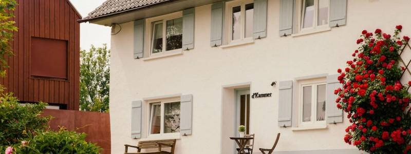 kammer illerbeuren allgaeu nachhaltiger urlaub mit kind in deutschland in bayern mit dem rad auf dem land im gruenen aussenansicht