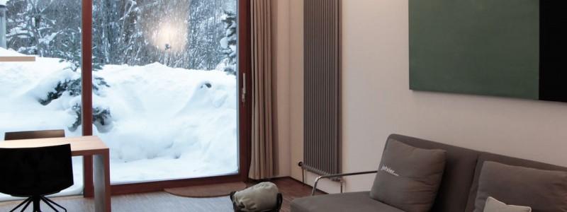 jotvier jungholz ferienwohnung allgäu urlaub in den bergen in der natur mit der familie mit hund nachhaltige bauweise heimische natürliche hölzer baumaterialien von drinnen nach draussen winter