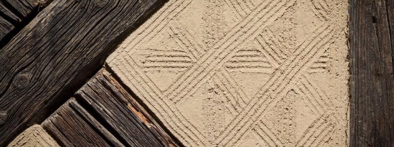 umgebinde 1657 fachwerk blockhaus saechsische schweiz elbsandsteingebirge bad schandau krippen urlaub in der natur in den bergen im gruenen mit der grossfamilie mit freunden wandern elbe wasser lehmputz