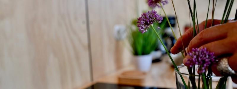 nachhaltige unterkuenfte in deutschland tiny house aussergewoenlich urlaub in der natur auf der insel am wasser oekologisch recycelbar umweltfreundlich wikkelhouses helgoland kueche